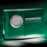 Zilo Desk Clock Clock Crystal Awards