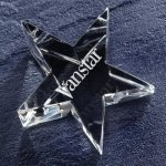 Optic Star Paper Weight Paper Weight Crystal Awards